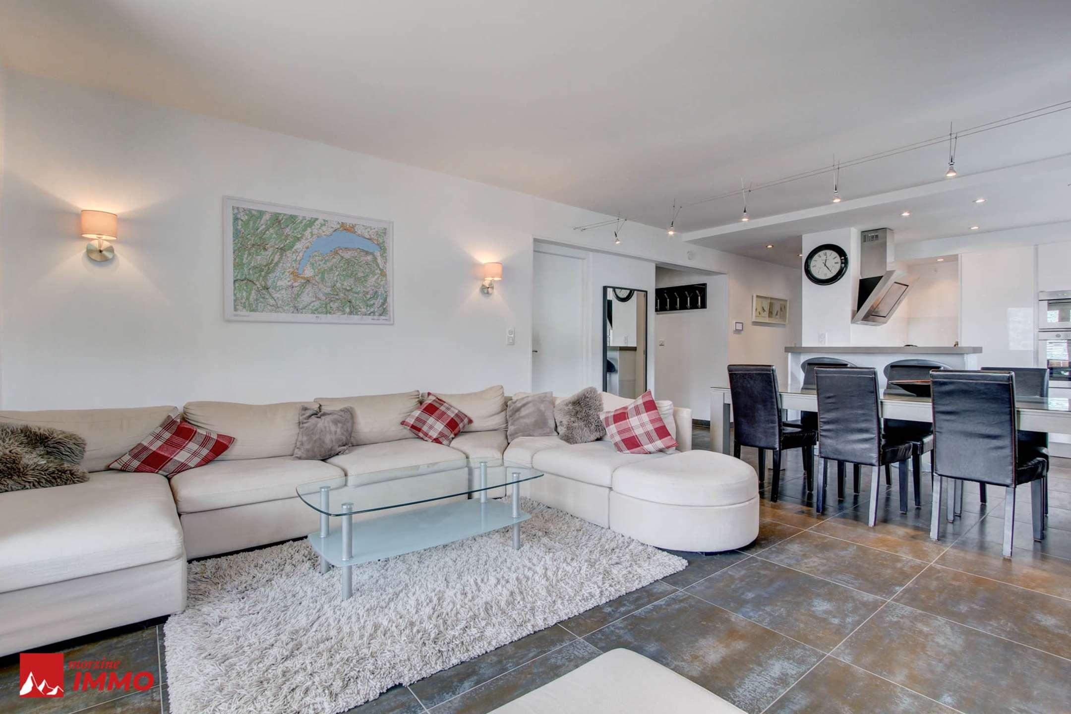 Appartement 3 chambres, rénové, au centre de Morzine