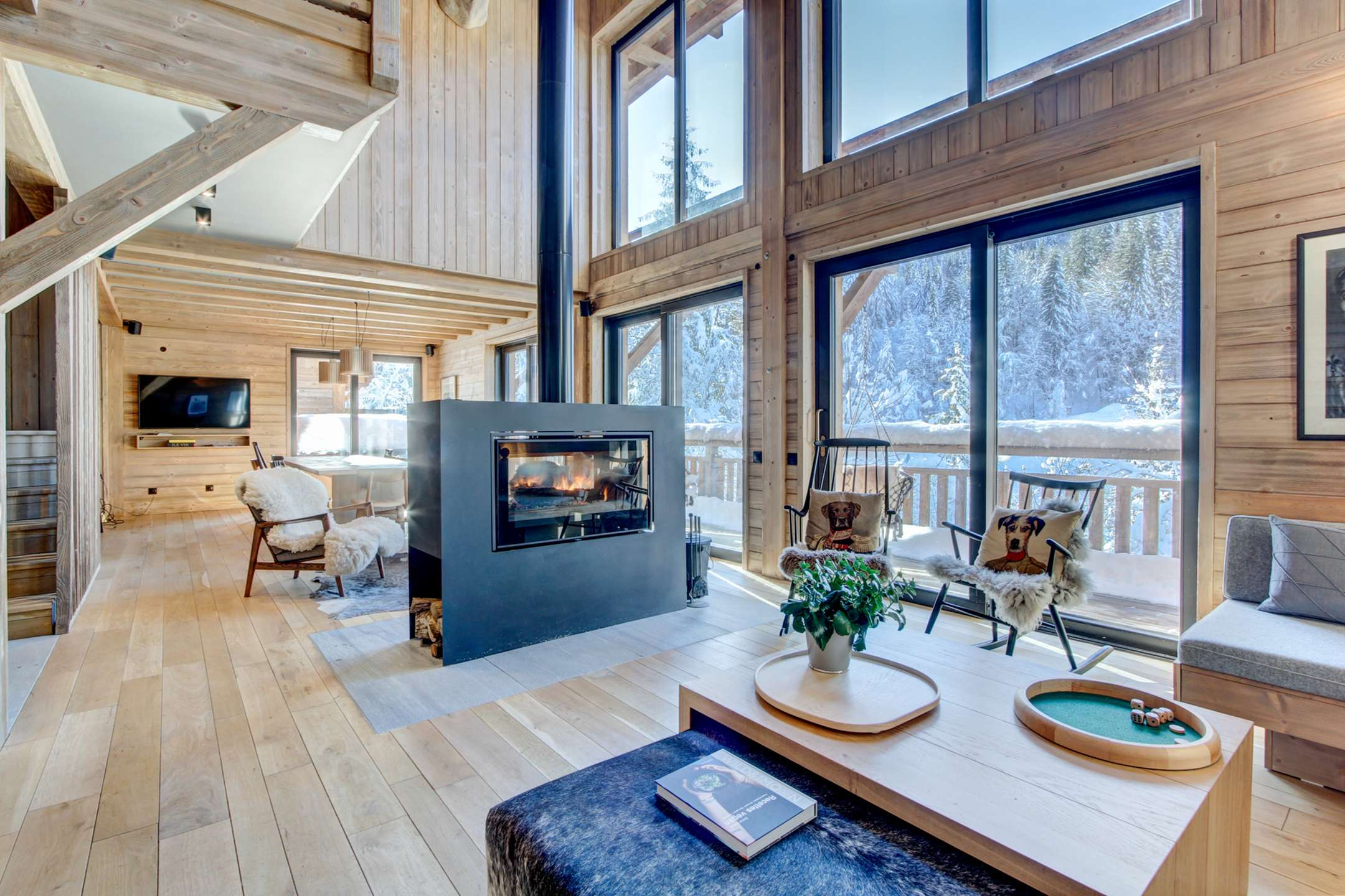 Mesanges C - Brand new chalet 6 bedrooms 6 bathrooms for up to 16 people