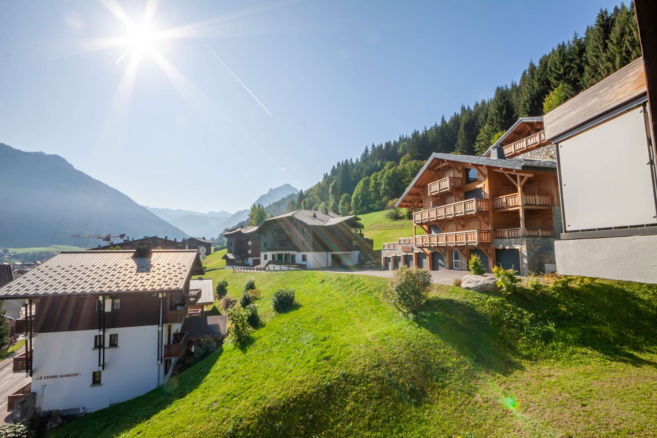 Location de vacances agence immobili re morzine immobilier - Location appartement 2 chambres ...